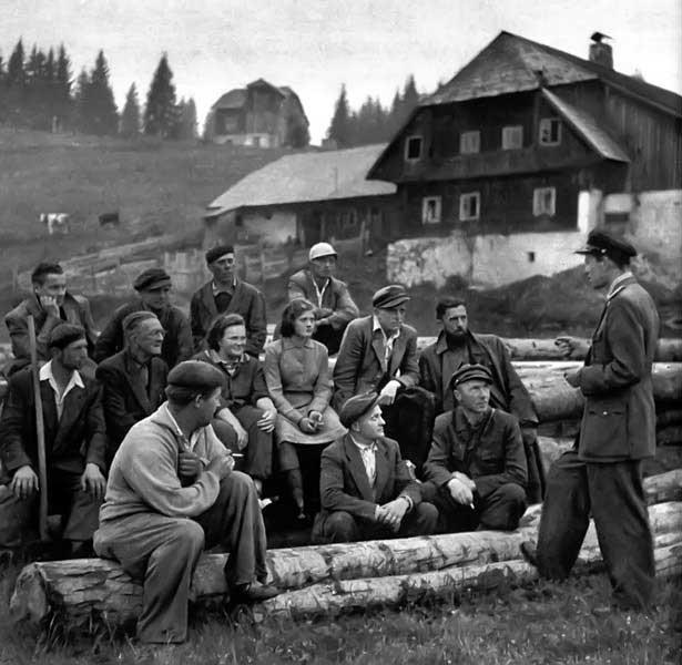Pohraničníci jako součást historie